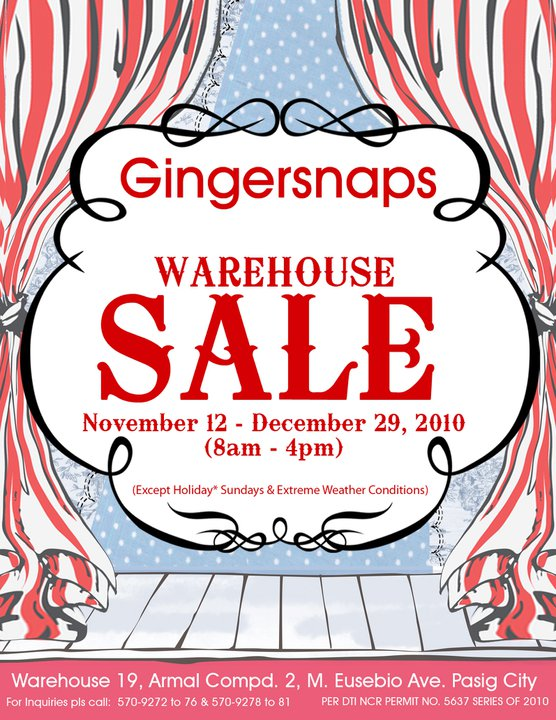 Pasig Christmas Sale and Bazaars