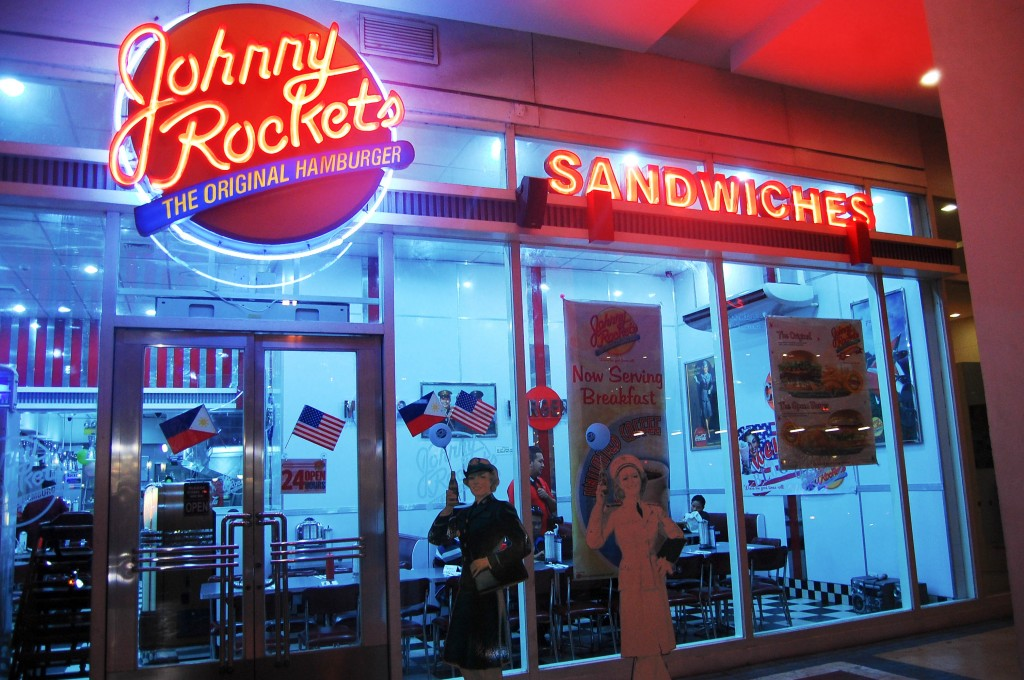 Food Adventure at Johnny Rockets