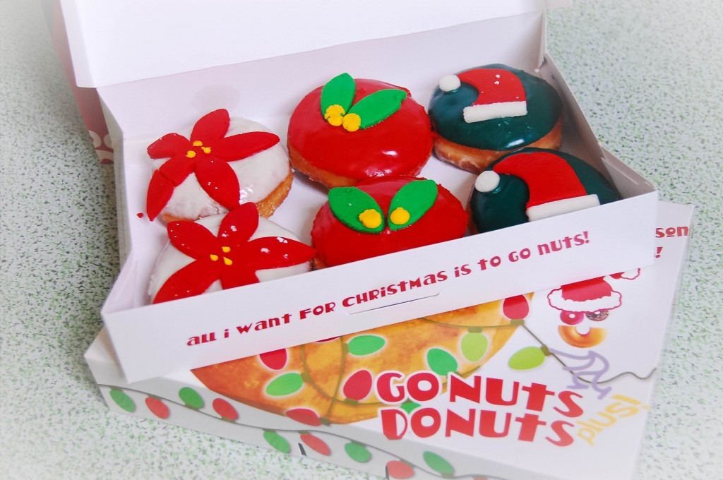Go Nuts Donuts Holiday Sweets