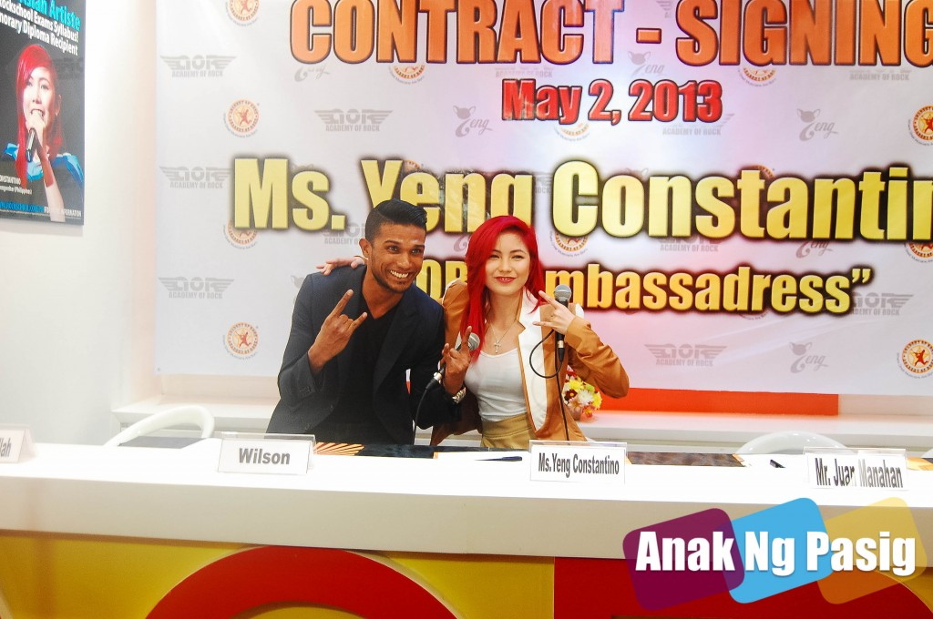 Yeng Constantino Ambassadress of Rock
