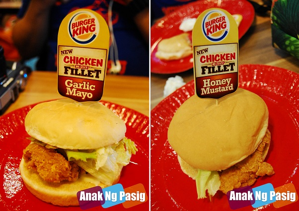 Burger King Chicken Crisp Fillet Sandwich