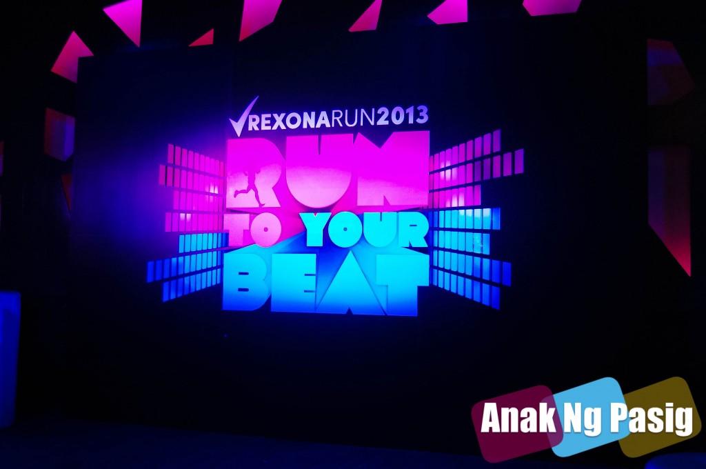 Run To The Beat of Live Music with Rexona Run 2013
