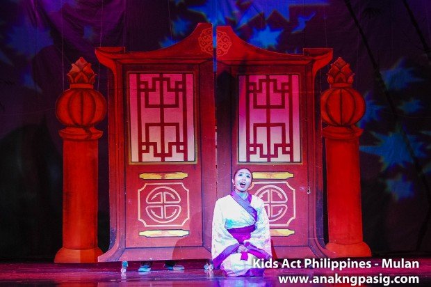 Kids Act Philippines Stages Mulan
