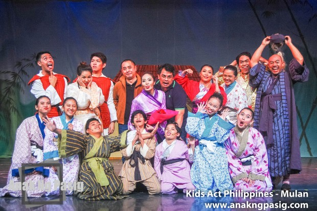 Kids Act Philippines Stages Pre Christmas Shows for Mulan