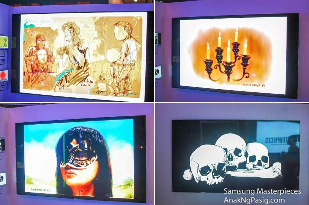 Masterpieces is Samsung's Digital Art Gallery