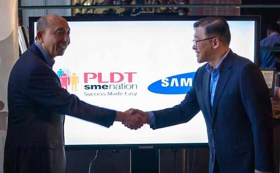 PLDT SME and Samsung Electronics Takes Their Partnership to the Cloud