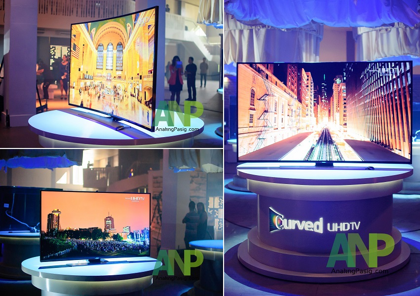 Samsung Unveils The World's First Curved UHD TV