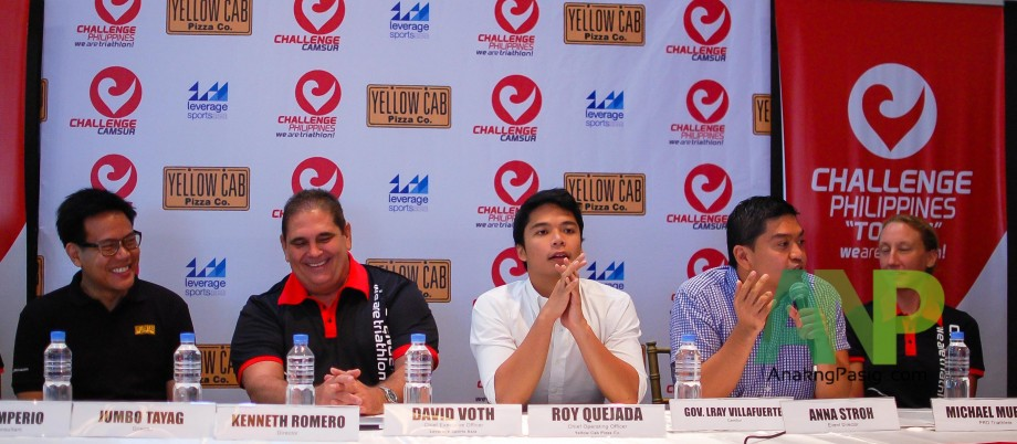 Yellow Cab and Challenge Philippines Teams Up for Challenge CamSur