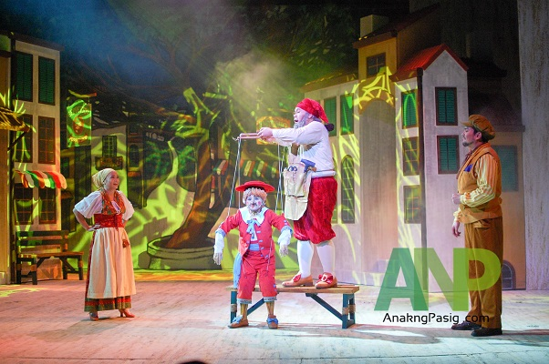 Repertory Philippines Teaches Life Lessons with Pinocchio
