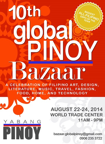Yabang Pinoy Now On It's 10th Global PINOY Bazaar!