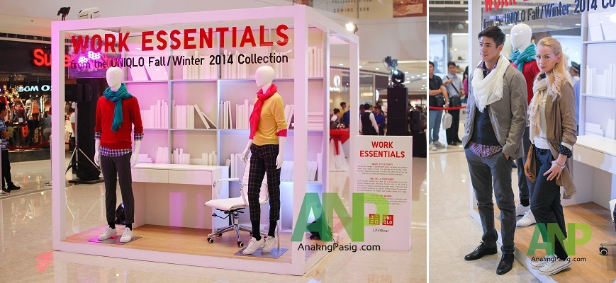 UNIQLO Shows Off  2014 Fall-Winter collection