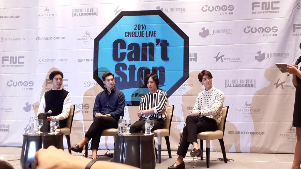 2014 CNBlue Live in Manila!
