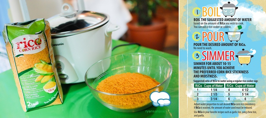 Cooking Rico Corn Rice