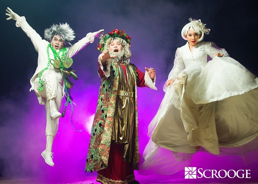Scrooge The Musical Opens on November 21