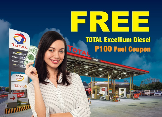 Get More TOTAL EXCELLIUM with Every Gas-Up!