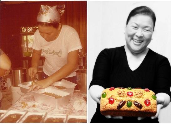 JuD Baking Fruitcakes 1978