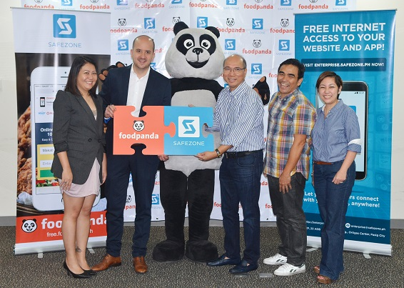 Foodpanda and Voyager Innovations for SafeZone