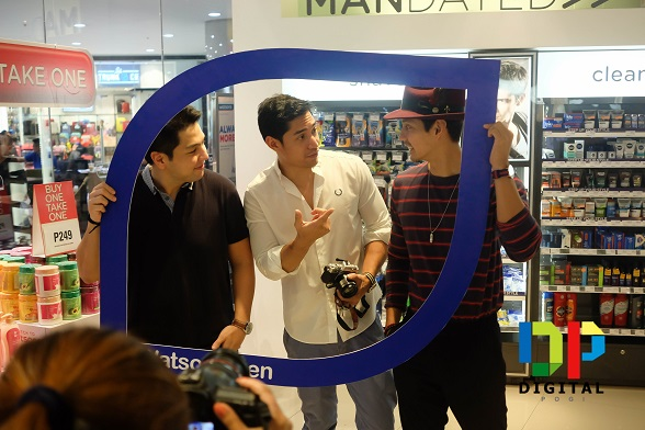 Men, Step Up Your Style At Watsons' MANDATED