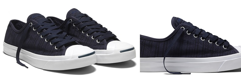 Converse Jack Purcell Remastered in Seersucker