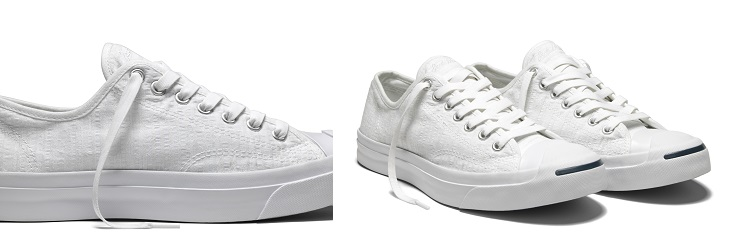 CONVERSE JACK PURCELL SEERSUCKER OX White