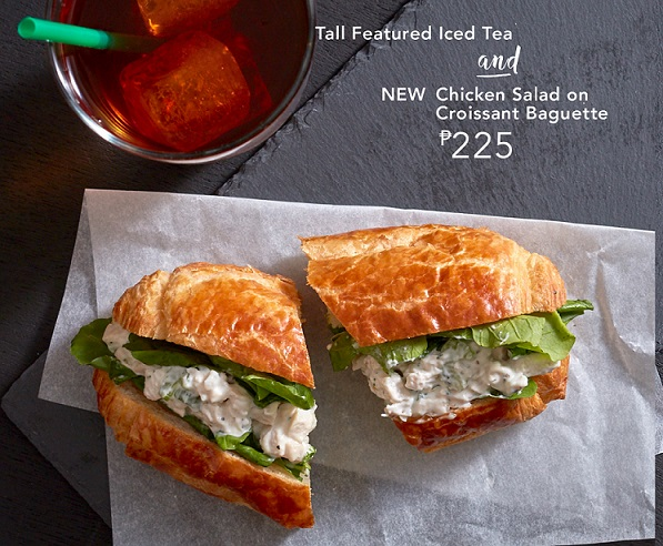 Starbucks Signature Pairings For Breakfast and Lunch