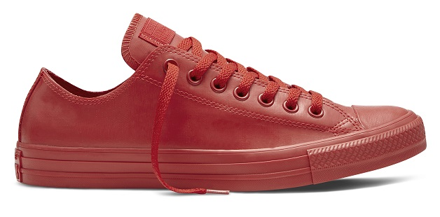 Converse Rubber Sneakers Now Available in Low Tops
