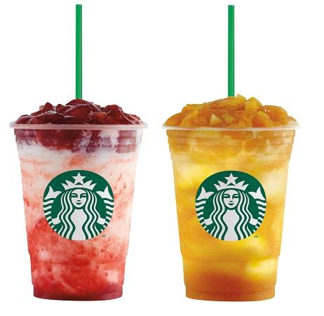 New Zesty Starbucks Yogurt Blended Drinks!