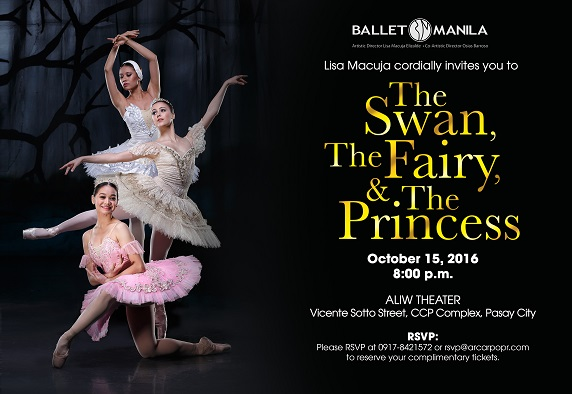 Ballet Manila Presents The Swan, The Fairy, and The Princess