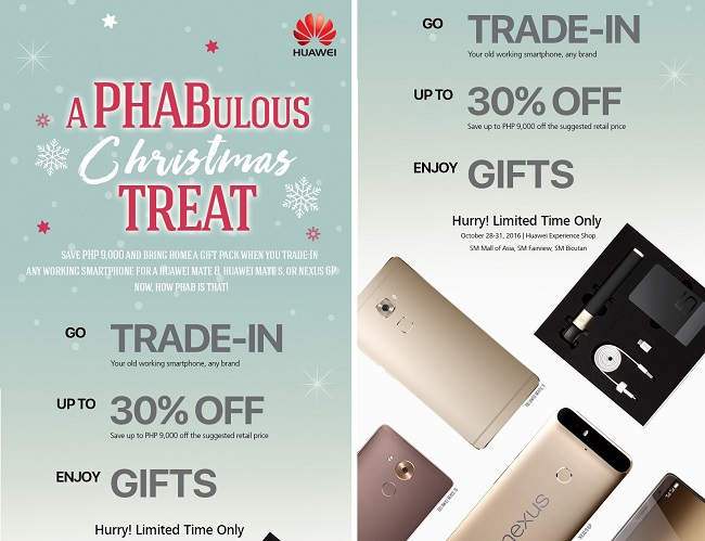 An early PHABulous Christmas Treat From Huawei This October!