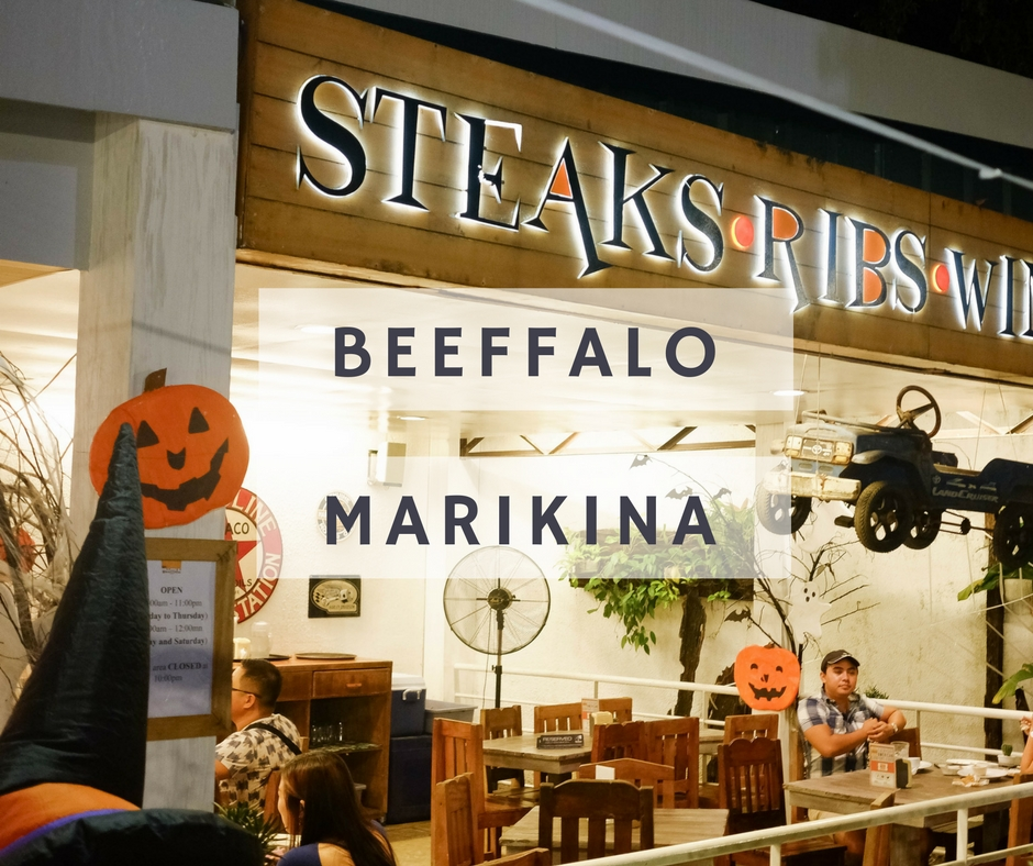 Rediscovering Marikina Restos with Beeffalo by Hot Rocks