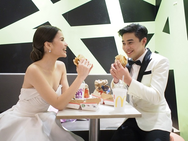 McLisse's spiced up date in McDonald's After Star Magic Ball
