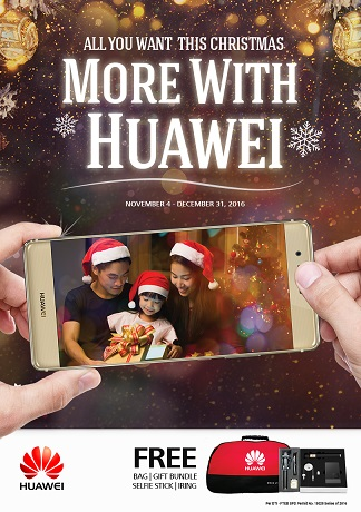 Huawei Holiday Promos with Metrobank and Home Credit