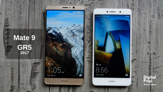 Huawei Mate 9 and GR5 Preview