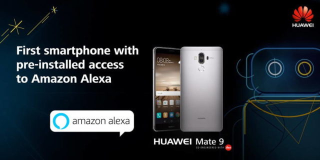 Huawei Releases Two AI Phones – Honor Magic and Mate 9 with Alexa