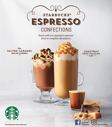 New Drinks, Food and Starbucks Cards Awaits This 2017!