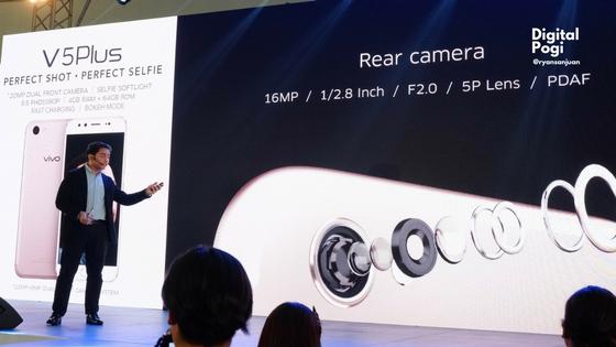 Vivo V5 Plus Dominates The Selfie Game with Dual Camera