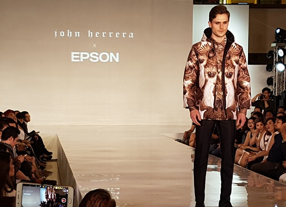Fashion Visionary John Herrera and Epson Team Up Digital Textile