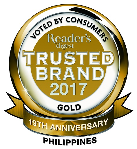 Trusted Brands 2017 - Gold