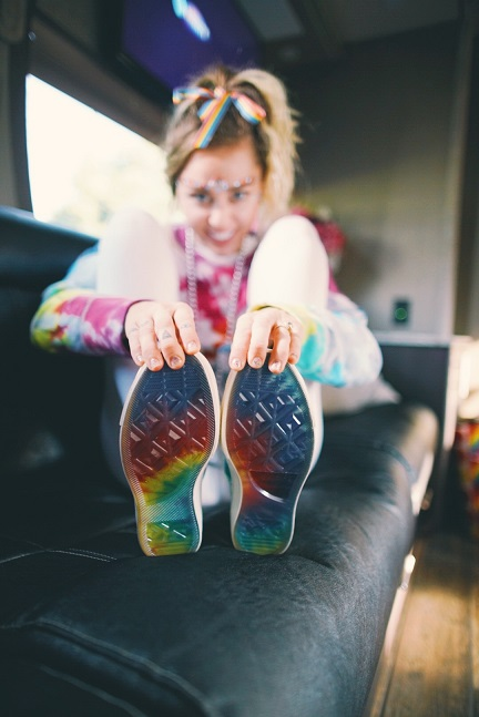 Converse Welcomes Miley Cyrus to The Brand