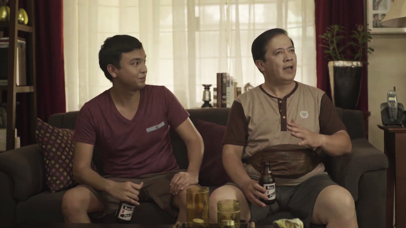#PaBeerTayo this Father's Day with San Miguel Pale Pilsen!