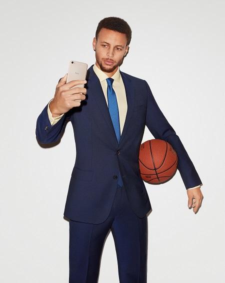 NBA Superstar Stephen Curry lauds Vivo for V5 innovation