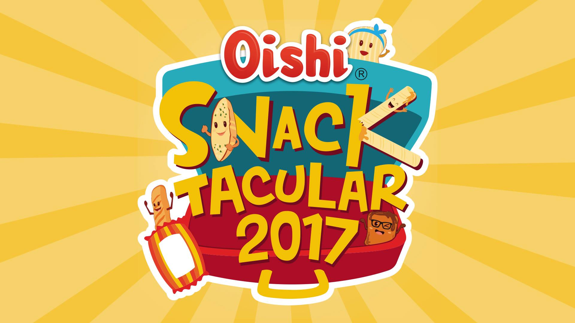 Meet and Eat the Yummiest Gang at Oishi SnackTacular 2017
