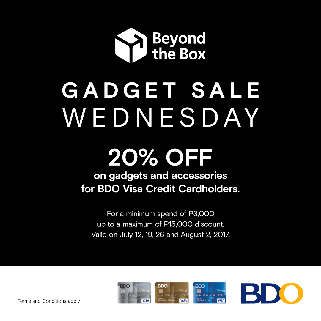 Beyond the Box Gadget Sale Wednesday Until August 2, 2017