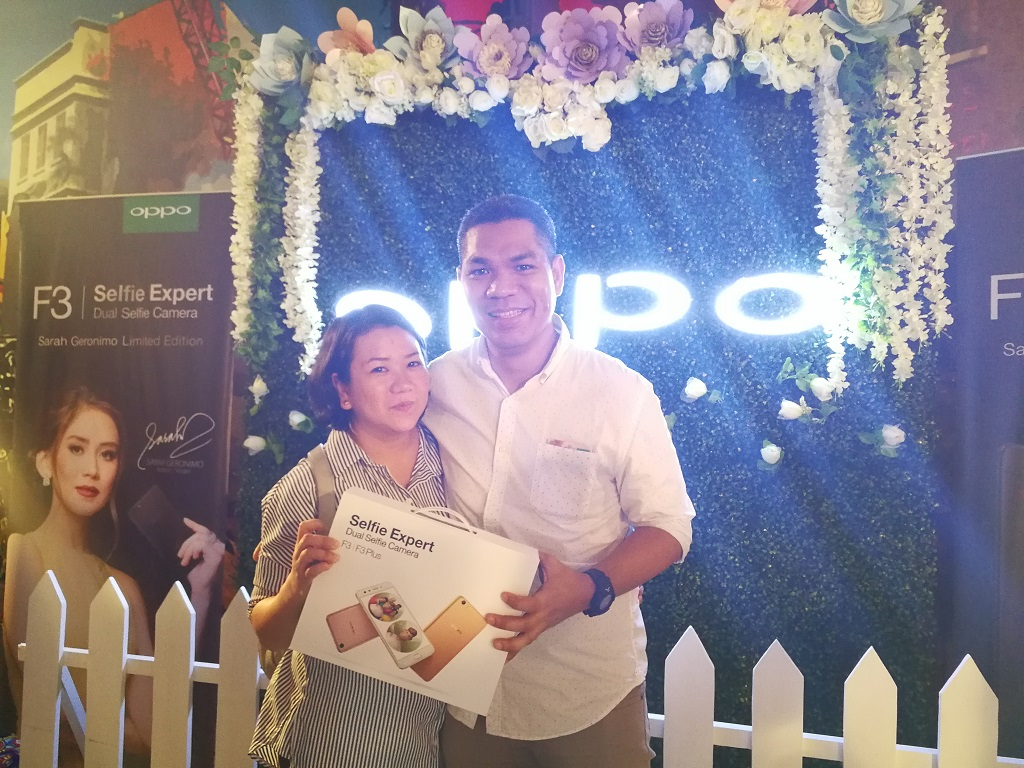 "OPPO Supports Sarah Geronimo's ""Finally Found Someone"" Premiere"
