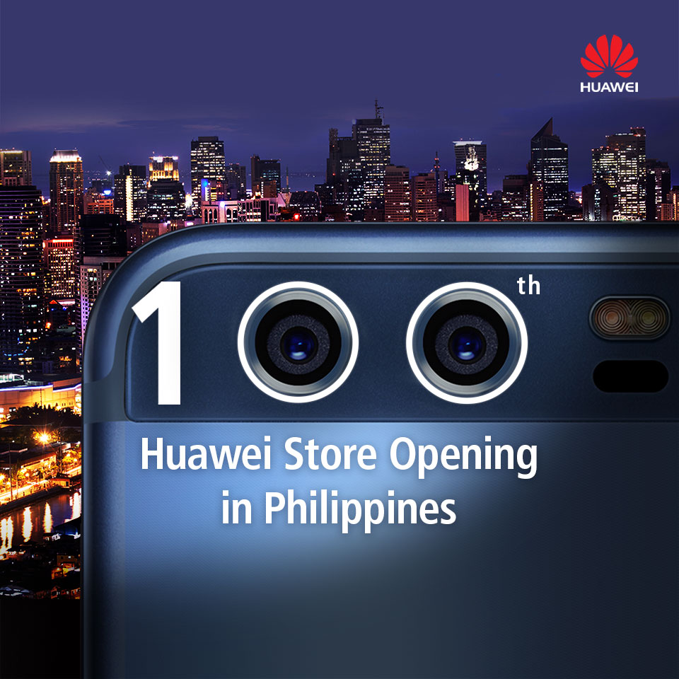 Huawei Opens 100th Concept Store!