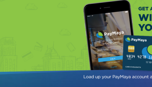 Win 10x Your PayMaya Load via Robsinsons Business Centers