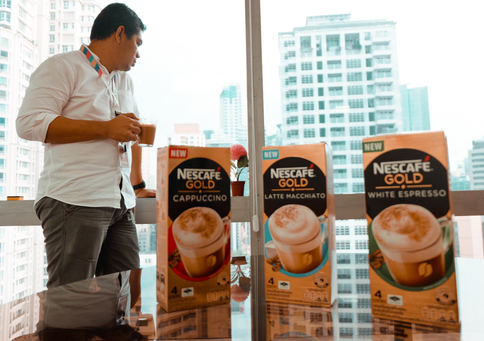 Appreciate the Difference in the new NESCAFE Gold Collection
