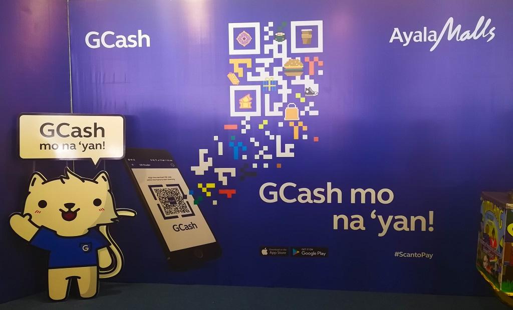 GCash Encourages Cash-less Payments at Ayala Malls Thru GCash