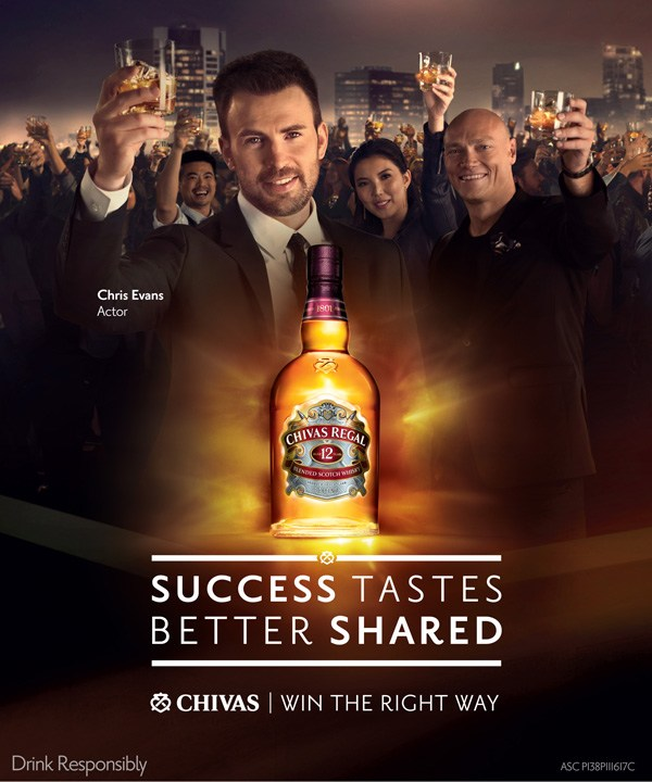 Celebrate Success with the World's First Luxury Whisky – Chivas Regal