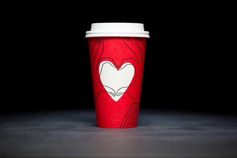 The Starbucks Red Cups puts love on the spotlight on Its Comeback